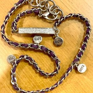 Pretty premier design chain bracelet